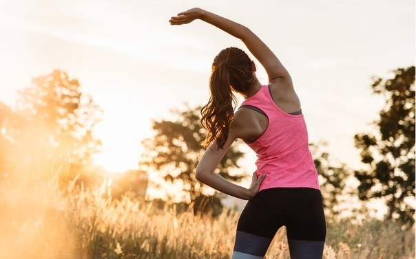 Утренняя зарядка, комплекс упражнений для каждого